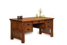Mission Style Desk Furniture Solid Wood Office Desk Furniture within Mission Style Office Furniture Amish Furniture, Furniture Direct, Solid Wood Furniture, Fine Furniture, Furniture Design, Amish Crafts, Mission Style Furniture, Office Computer Desk, Office Desks