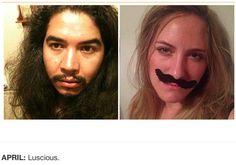 une femme imite les selfies de l homme qui detient son telephone portable 4   Une femme imite les selfies de lhomme qui a son portable   vol...