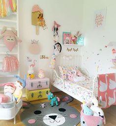 Inspiração para quartinho se meninas! Por @kidsdesignlife . #Baby #Babykids…