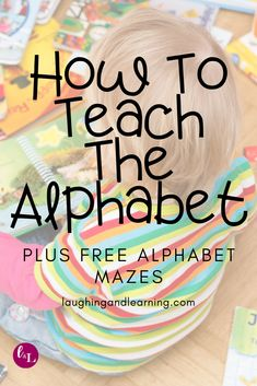 What letter sequence should you use to teach letter names and sounds? Here's how to teach the alphabet and the best letter sequence to use: 3 Year Old Activities, Printable Activities For Kids, Alphabet Activities, Kindergarten Activities, Educational Activities, Free Activities, Teaching The Alphabet, Teaching Kids, Kids Learning