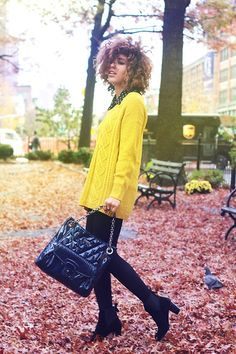 Mellow Yellow (by Christina Caradona) http://lookbook.nu/look/2772017-Mellow-Yellow