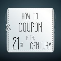 Coupon Tips and Websites