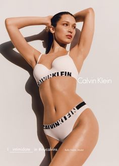 Calvin Klein's New Ads Star Bella Hadid, Zoë Kravitz, and Presley Gerber | Teen Vogue