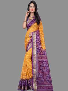 4c9106bac93 this is jacquard silk saree with a handmade golden lace border and  traditional print. This fabric is hand woven so it is comfortable   easily  drapes aro und ...