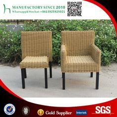 Nuevo diseño de silla de mimbre al aire libre muebles de China