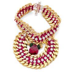 Akong London White Bracelet ($750) ❤ liked on Polyvore