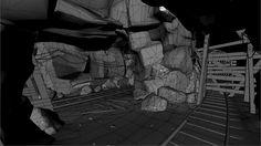 ArtStation - cave/mine, Bobby Rice