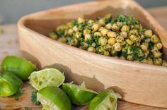 Cilantro Lime Chickpea Salad