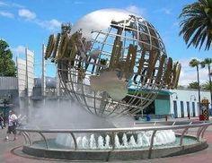 Universal Studios globe is missing New Zealand
