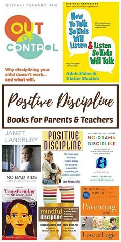 Positive Discipline Books for Parents & Teachers – Here's a round-up of quality resources to help you navigate parenthood. Whether you're just starting out with babies and toddlers, or you're knee-deep in the teenage years, we've got something for you! Best Parenting Books, Parenting Teenagers, Gentle Parenting, Parenting Humor, Parenting Advice, Peaceful Parenting, Parenting Classes, Parenting Styles, Toddler Parenting Books