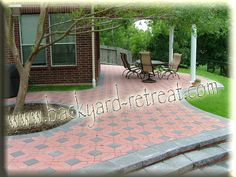 It will be a great options for Ideas For Brick Pavers to be choosen. Description from landscapinggallery.info. I searched for this on bing.com/images