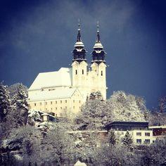 #schnee #poestlingberg #linz #austria #lnz #winter #linzpictures #diebestenbilderderstadt #snow #church #neuschnee #winter #kalt #travel #tourism #kirche