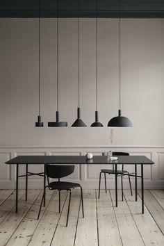 Table Mingle, suspension Collect et chaise Herman de Ferm Living