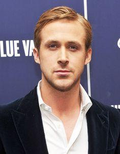 Männerfrisuren mit Seitenscheitel Ryan Gosling