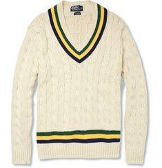 Ralph Lauren tennis sweater
