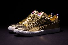 Undefeated x Puma Clyde « Gametime » Gold Edition