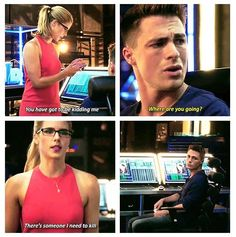 Arrow - Felicity and Roy #3.2 #Season3