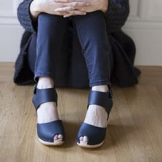 Miranda Sandal - Bryr - Handmade Clogs in San Francisco