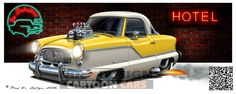 Nash-Metropolitan-3 | by DucK DeSIGN studio Limerick Ireland, Car Illustration, Car Drawings, Photo Studio, Washington Dc, Cod, Cartoon, Design, Drawings Of Cars