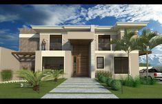 Terreno:  812 m² . Casa:  340m² + Piscina  26,52m² . 4 suítes.  .  . Status: em OBRA. Studio Del Valle Arquitetura.