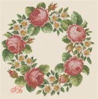 "Gallery.ru / Elenyshka - Album """" Wreath ""(Scheme Yana) is finished."""