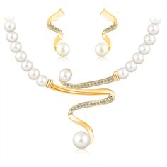 jewelry sets 18k gold plated african beads austrian crystal fashion necklace earrings wedding women gift bride girl set jewelrys