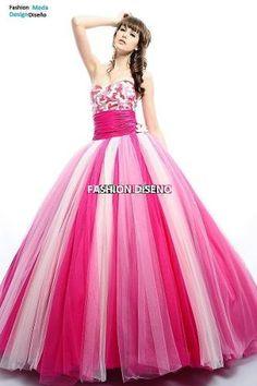 Elegantes Vestidos Quinceaños Quinceañera 15 Años - $ 10,989.00 en Mercado Libre