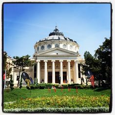Ateneul Roman Bucharest, Roman, Mansions, House Styles, Home Decor, Decoration Home, Manor Houses, Room Decor, Villas