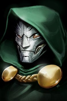 Dr. Doom Illustration