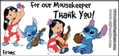 Picturing Disney: Mousekeeping & Tip Envelopes