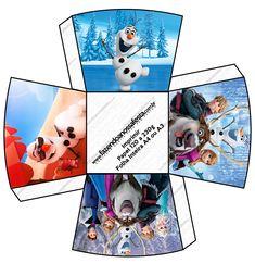 Small Container for popcorn or something Chachepô de Mesa Frozen Disney - Uma Aventura Congelante:  http://www.fazendoanossafesta.com.br/2014/01/frozendisney-umaaventuracongelante.html/frozen-disney-uma-aventura-congelante-77/#main