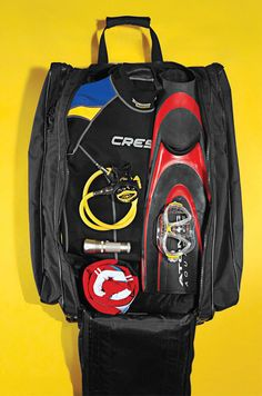 Interested in what the full pack list was from ScubaLab's Dive Bag Test? We've got the gear for you right here!
