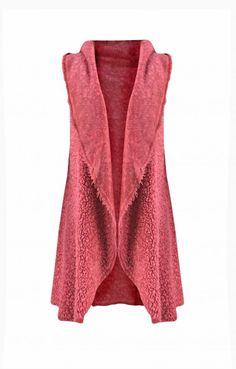 Γυναικείο γιλέκο  GILE-0335-pi Γιλέκα - Πανωφόρια - Γυναίκα Sweaters, Fashion, Moda, Fashion Styles, Sweater, Fashion Illustrations, Sweatshirts, Pullover Sweaters, Pullover