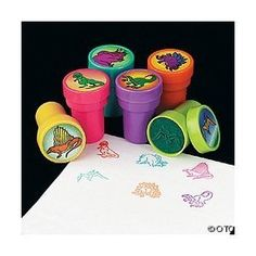 Assorted Dinosaur Stampers (24 PCS) by OTC, http://www.amazon.com/dp/B0038LYVVM/ref=cm_sw_r_pi_dp_j1uuqb1AGVQ3P