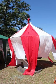 DIY Carnival Party Big Top Tent - Southern Revivals