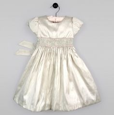 Toddler Sienna Smocked Dress