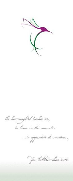 love hummingbirds! #bird_tattoo_minimalist
