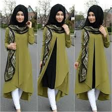 Image result for how to wear hijab covering chest steps
