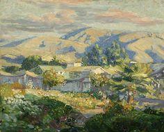 Joseph Kleitsch | The garden at Capistrano,1923