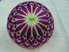 Purple & Green Tamari Ball