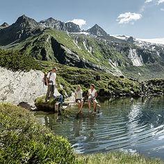 Bergsee bei Berlinerhütte, Tirol © Österreich Werbung/Peter Burgstaller