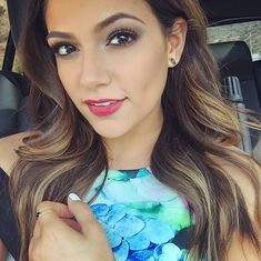 Bethany Mota gorgeous hair and makeup