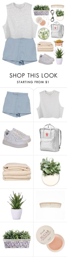 """""""gets an adrenaline rush from contributing to class conversation."""" by annamari-a ❤ liked on Polyvore featuring NIKE, Brahms Mount, WALL, Lux-Art Silks, Fresh, living room, kitchen and TalisLittleTag"""