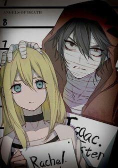 Satsuriku no tenshi Manga Anime, Moe Manga, Angel Of Death, Tous Les Anime, Nagisa Shiota, Anime Lindo, Anime Group, Ange Demon, Satsuriku No Tenshi