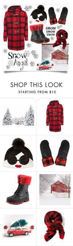 """""""Snow angel"""" by outfitsloveyou ❤ liked on Polyvore featuring Woolrich, Alice + Olivia, Chanel, Lauren Ralph Lauren, ANNIE and Old Navy"""