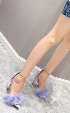 Aliexpress, Peeps, Peep Toe, Sexy Sandals, Metal Chain, High Heels