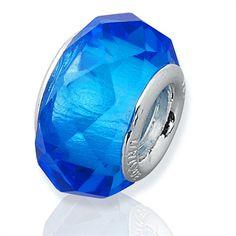 Blauer Glas Bead mit 925 Silber Fassung BH0003 https://www.thejewellershop.com/Blauer_Glas_Bead_mit_925_Silber_Fassung_BH0003_i88_305_0.htm #bead #jewelry #blau #blue #silber #charm