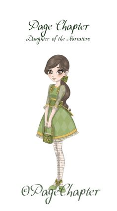 Ever After High: Page Chapter by PageChapter This is my personal EAH character I created.