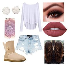 """""""Untitled #809"""" by glamor234 on Polyvore featuring Alexander Wang, UGG Australia, Chanel and Lime Crime"""
