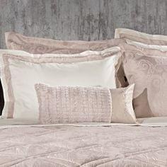 Σεντόνια Υπέρδιπλα (Σετ) Guy Laroche Loren Amethyst perkali Teak, Bed Pillows, Pillow Cases, Satin, King, Guy Laroche, Home, Decor, Cotton